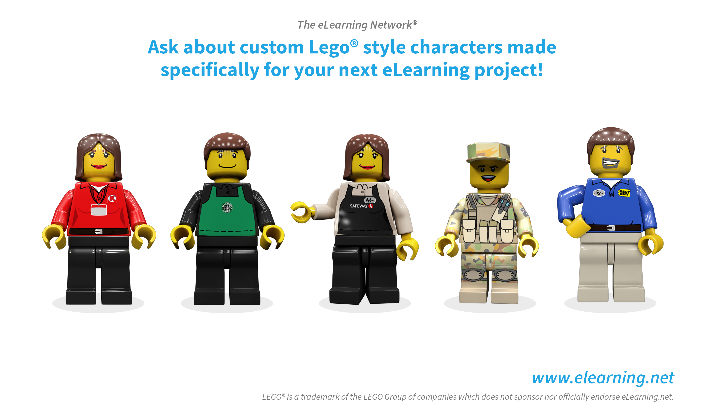 Lego-Style eLearning Characters